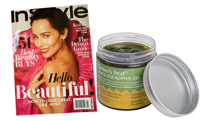 InStyle Magazine Features Berbers Treat Product