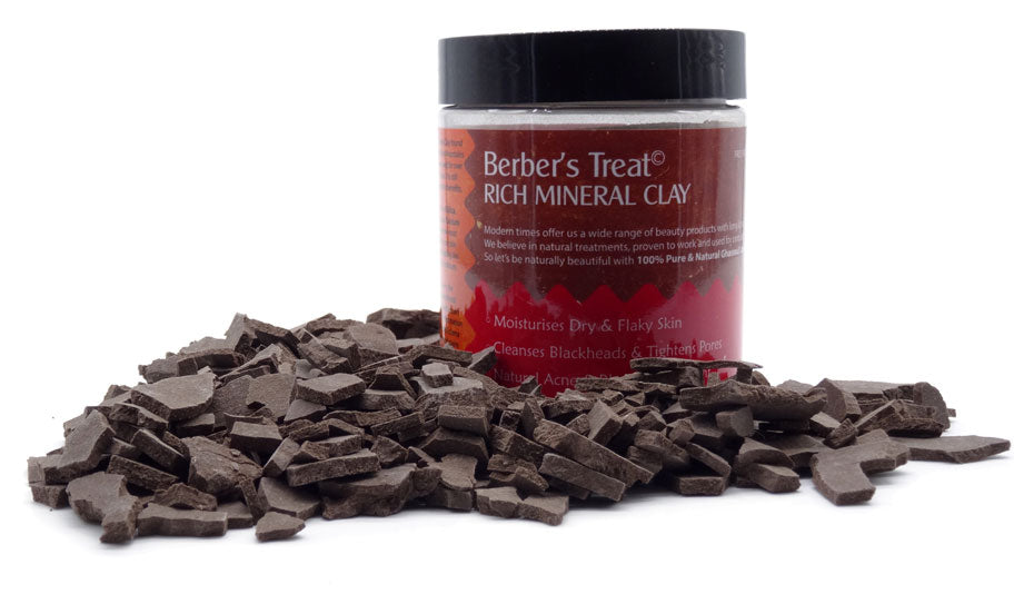 Mineral clay for blackheads whiteheads spots