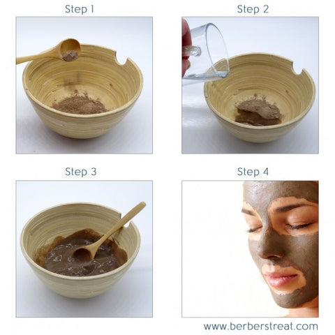 How to prepare Rhassoul Clay