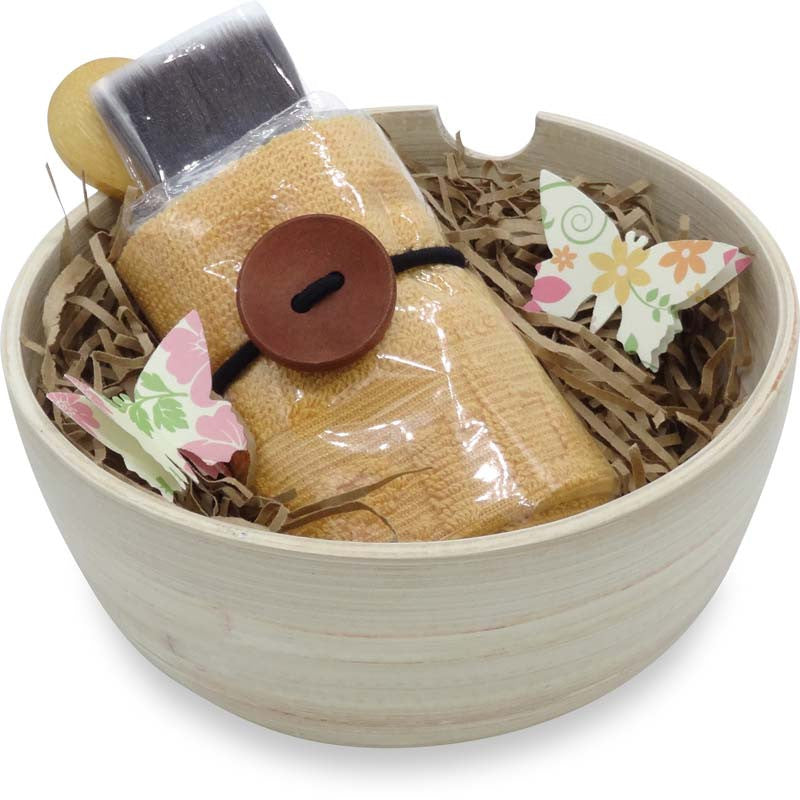 Clay Mask Bamboo Bowl Set