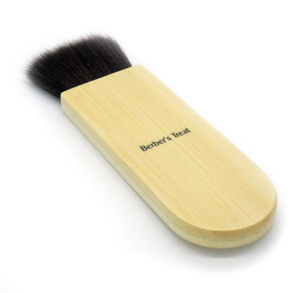 Face Brush with natural bamboo handle