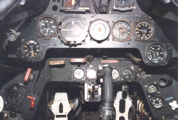 FW 190 F8 Fighter Instrument Panel Crash Relic