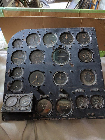 Bristol Beaufort Instrument Panels