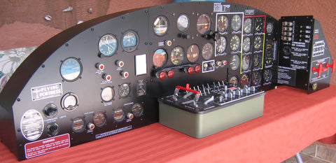 B-17 Flying Fortress Instrument Panels