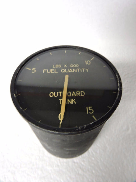 Fuel Quantity Indicator, Outboard Wing Tank, B-36H Peacemaker Bomber