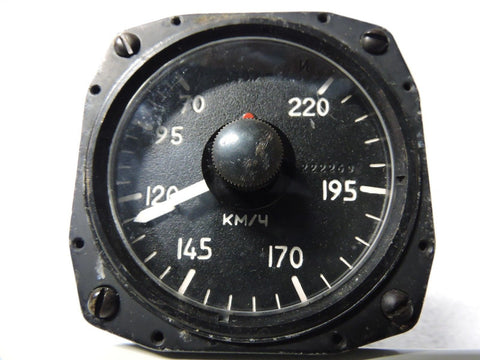 Airspeed Instrument, Soviet/Russian, Unknown function, Cold War-era