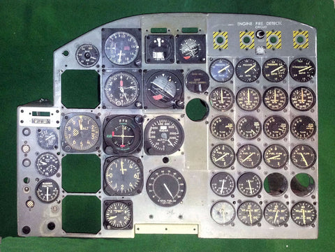 B-58A Hustler Instrument Panel (from B-58A serial number 59-2437)