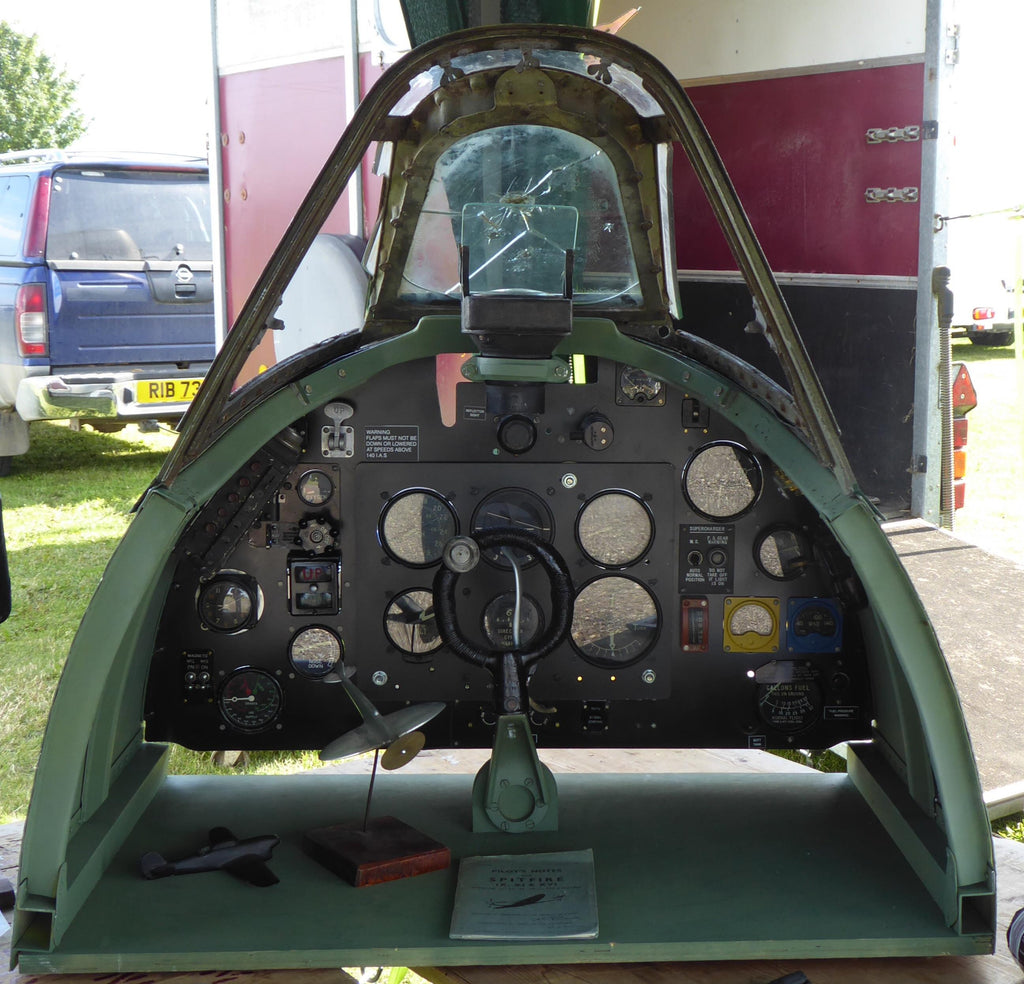 Spitfire Mk9 Cockpit Section