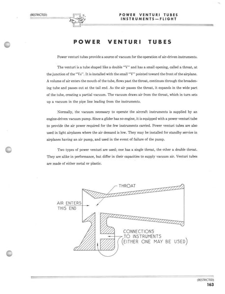 Power Venturi Tube, Double Throat, AN5807-1, Type B-4A