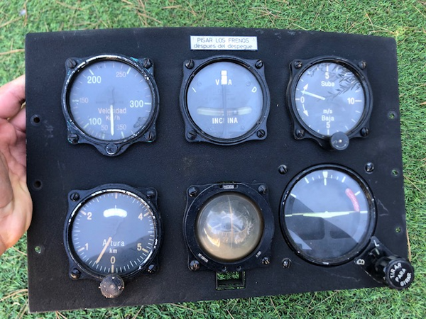 Hispano Aviation H.A. 1112 Buchon Instrument Panel