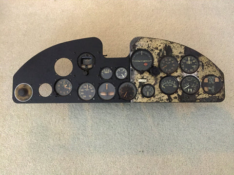 A-35B Vengeance Instrument Panel