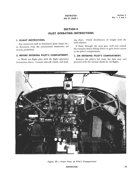 Control Wheel / Yoke, B-26 Martin Marauder Medium Bomber
