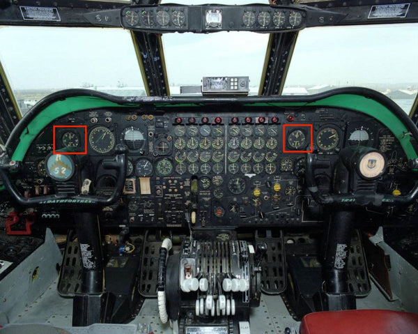 Airspeed Indicator, Maximum Allowable, Type L-7A w/Mach Limiter, Kollsman 1214DX