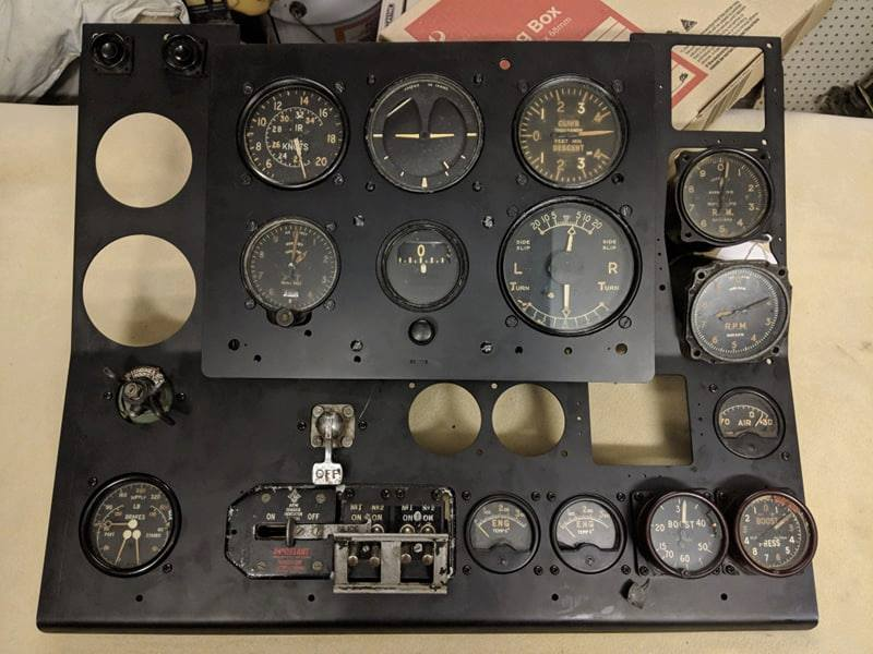 Beaufighter Instrument Panel