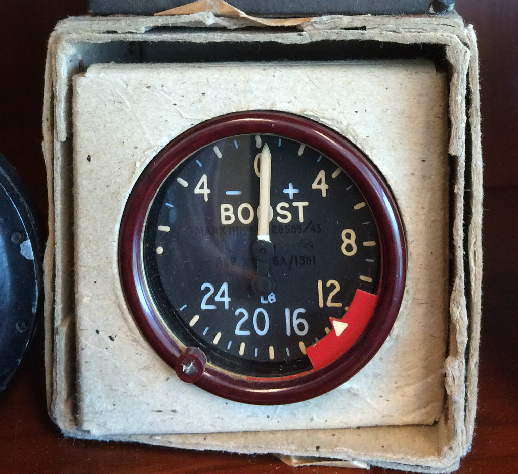Boost Pressure Indicator, MK IIIm, 6A/1581, British Royal Air Force, 1943