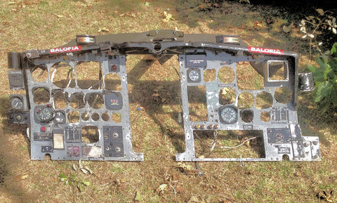 Lockheed C-130A s/n 54-1622 Hercules Instrument Panel