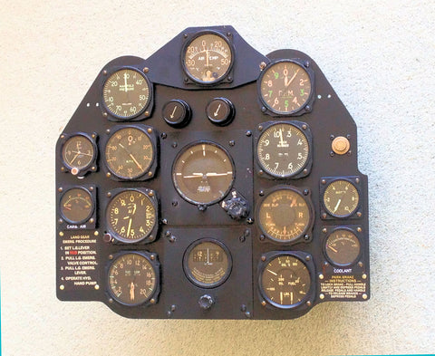 CAC CA-15 Instrument Panel