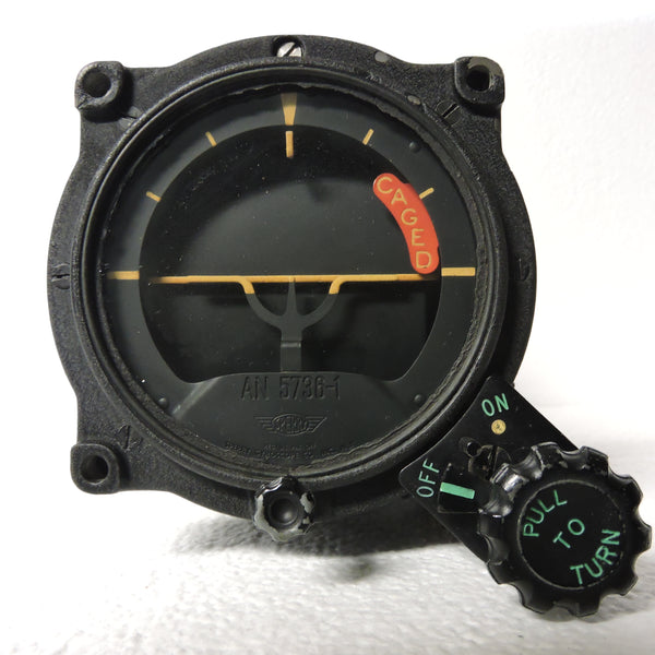 Gyro Horizon Indicator, AN-5736-1, Sperry 656768