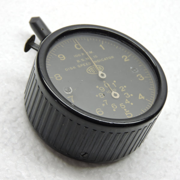 Chronometric Tachometer / Disk Speed Indicator BS Mk15 for Testing Norden Sight