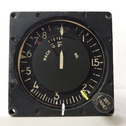Airspeed / Mach Speed Indicator, Type AVU-8-B/A