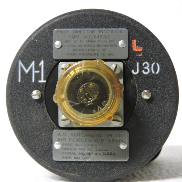 Pilot Director Indicator for Sperry A-5 Automatic Pilot