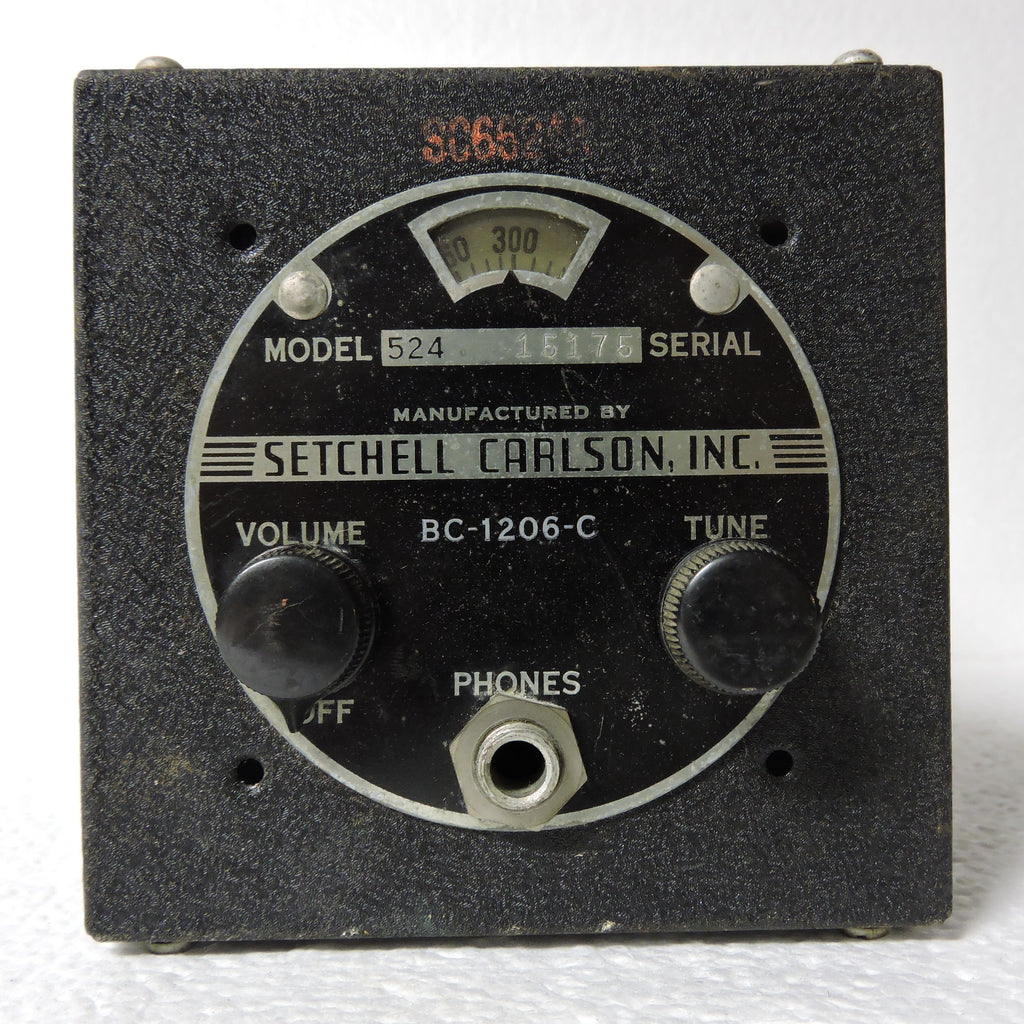 Beacon Radio Receiver BC-1206-C, Model 524