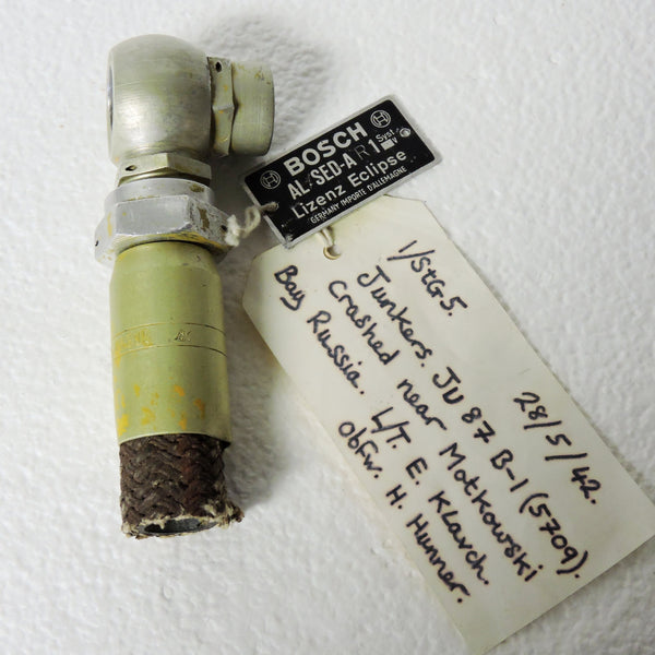 Crash Relic, Engine Hose, Luftwaffe Aircraft WWII 1942