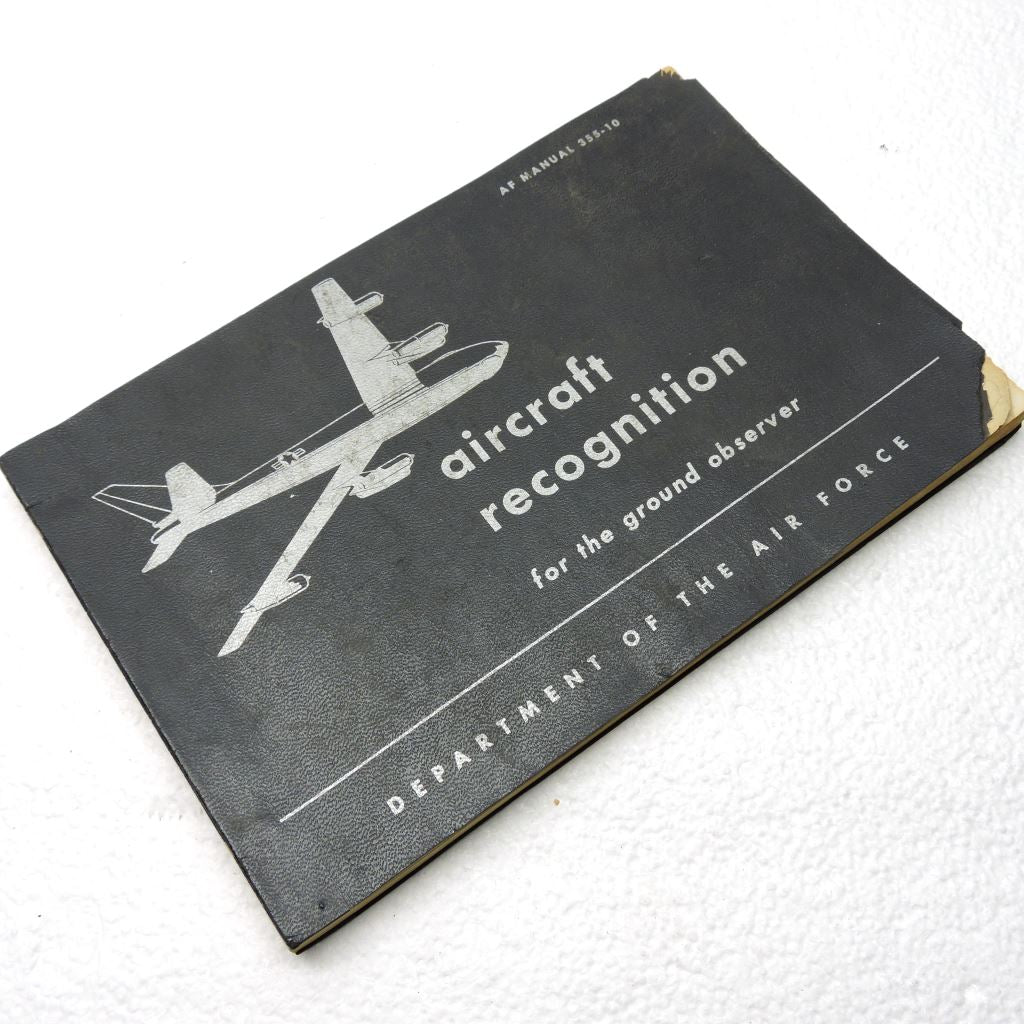 Aircraft Recognition Manual, USAF 1955 AF Manual 355-10