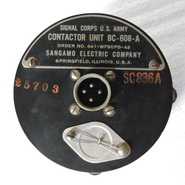 Contactor Unit BC-608-A of RC-96A System Pipsqueak