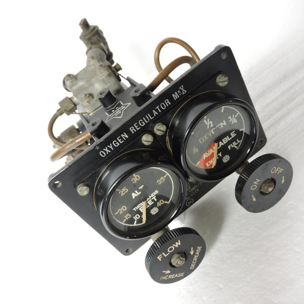 Oxygen Master Regulator Mark X, British RAF, 106D/24