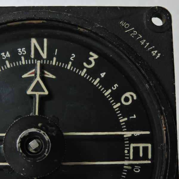 Compass, Pilots Repeater Indicator Mk I RAF Ref 6A/1584, Distant Reading Compass