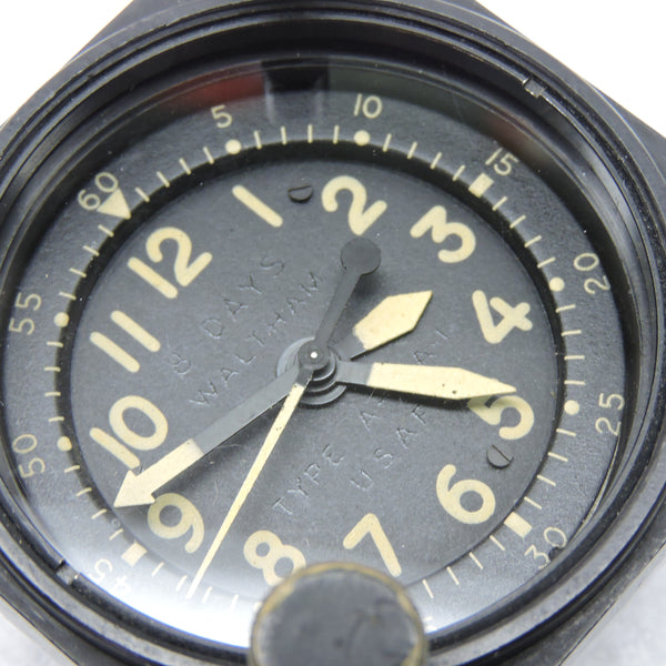 Aircraft Clock, 8 Day, Type A-13A-1, USAF 1965