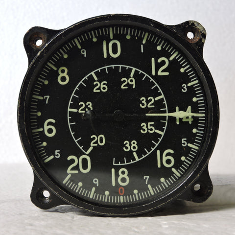 "Airspeed Indicator, Japanese Naval Aviation, Model 3 ""Kai"" 2"