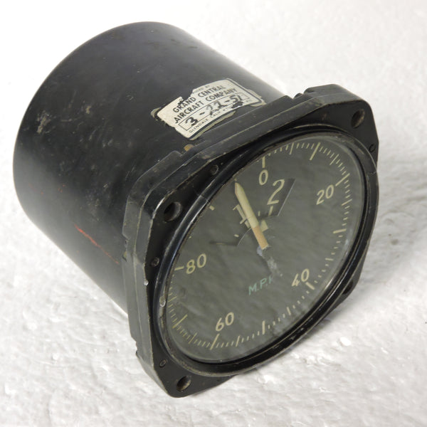 Airspeed Indicator, Sensitive, 700MPH, Army Type F-1, US Army Air Force, WWII