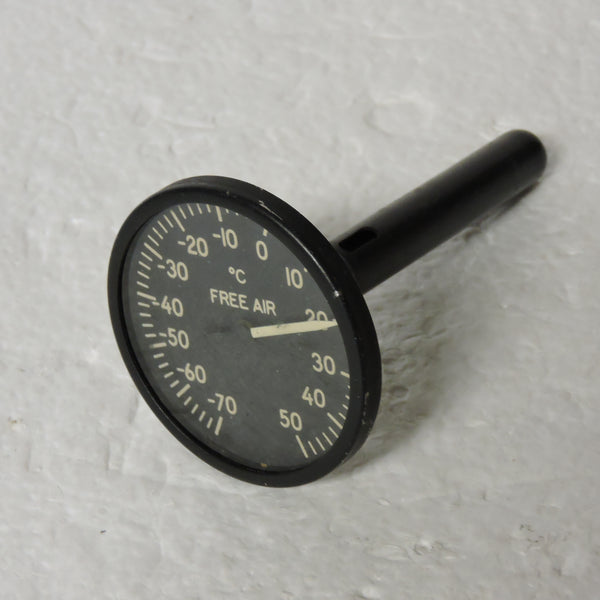 Free Air Temperature Indicator, Direct Reading, Type C-13B WWII