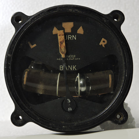 Turn and Bank Indicator Pioneer Type C635C-84