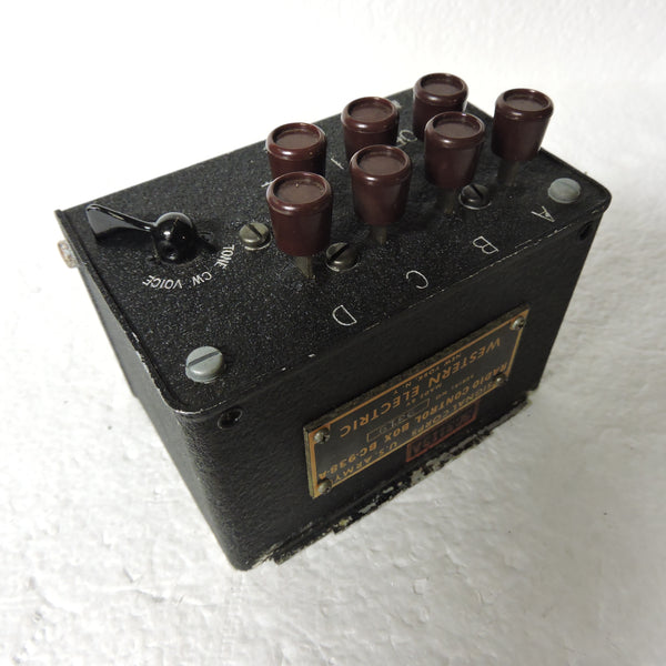 Radio Control Box BC-938-A as used in SCR274 System