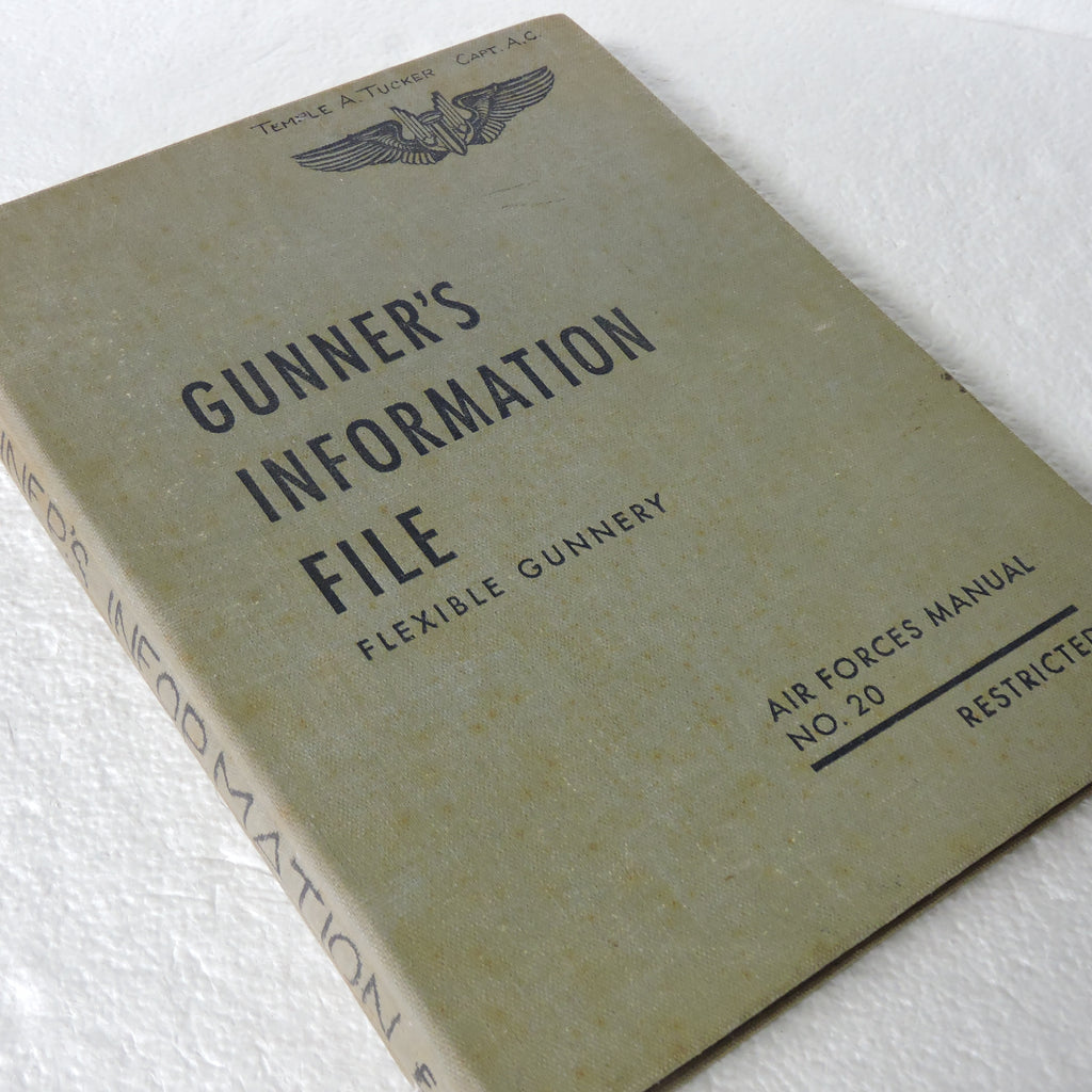 Gunners Information File USAF Manual No 20, for B-29 Superfortress