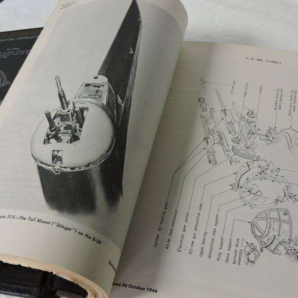 B-29 Superfortress Central Fire Control Technical Manual TO 11-70AA-9