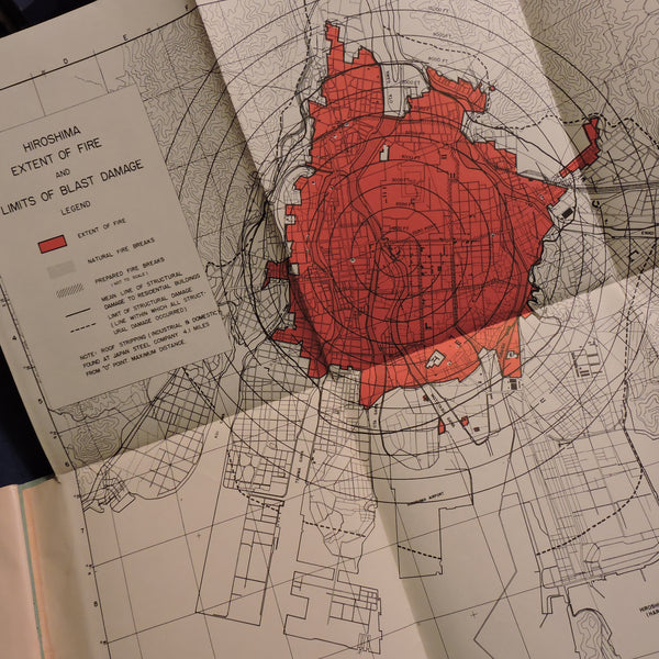 US Strategic Bombing Survey: Effects of Atomic Bombs on Hiroshima and Nagasaki