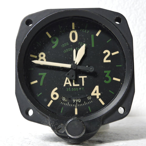 Altimeter, Sensitive, RAF MK XIVA 35K FT