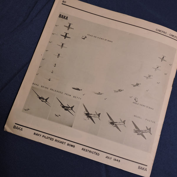 "Japanese Operational Aircraft ""Know your Enemy!"" CINCPAC Bulletin July 1945"
