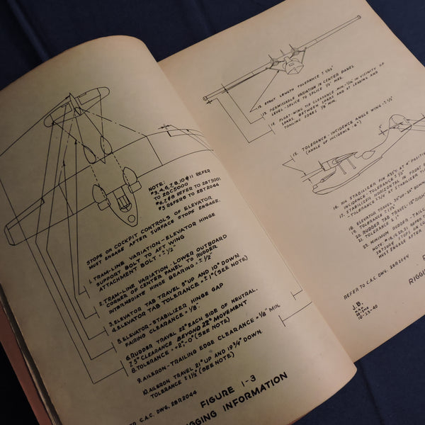 PBY Catalina Erection and Maintenance Manual Jan 1941