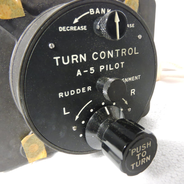 Autopilot Turn Controller for A-5 Auto Pilot System, Sperry