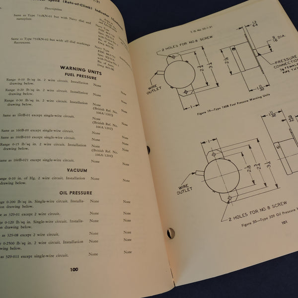 General Interchangeability of Aircraft Instruments TO 5-1-3 Sept 1947