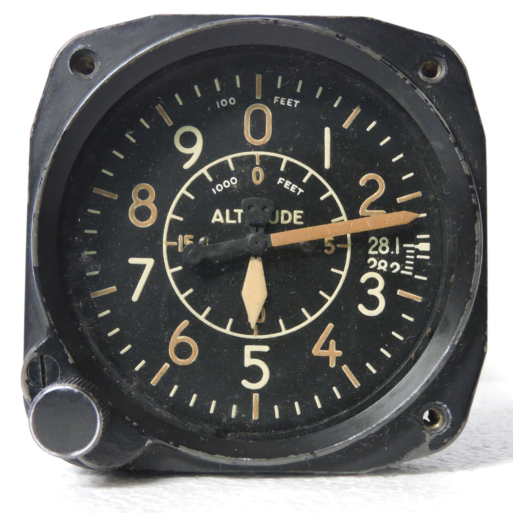 Altimeter Type B-11 20K Ft, Air Corps US Army