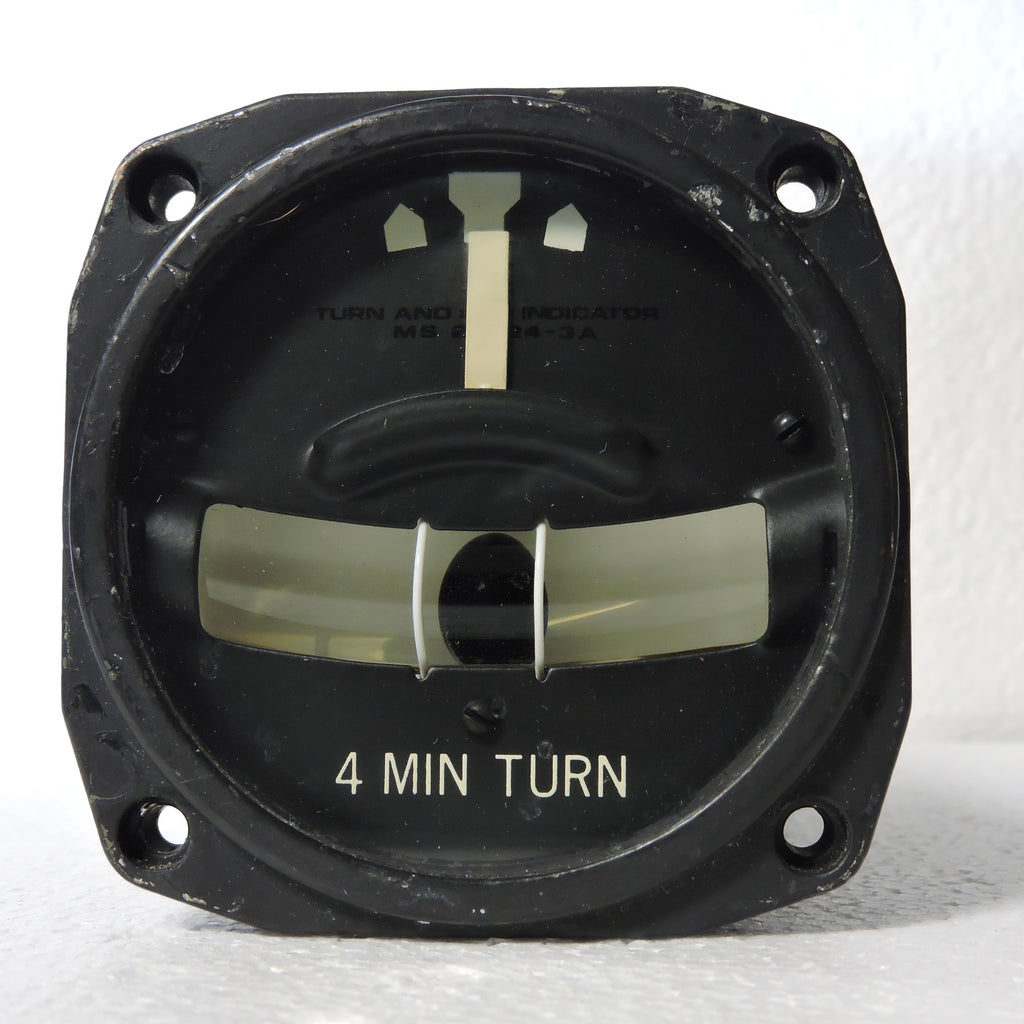 Turn and Bank Indicator, 4 Minute Turn, & Eyebrow Lamp