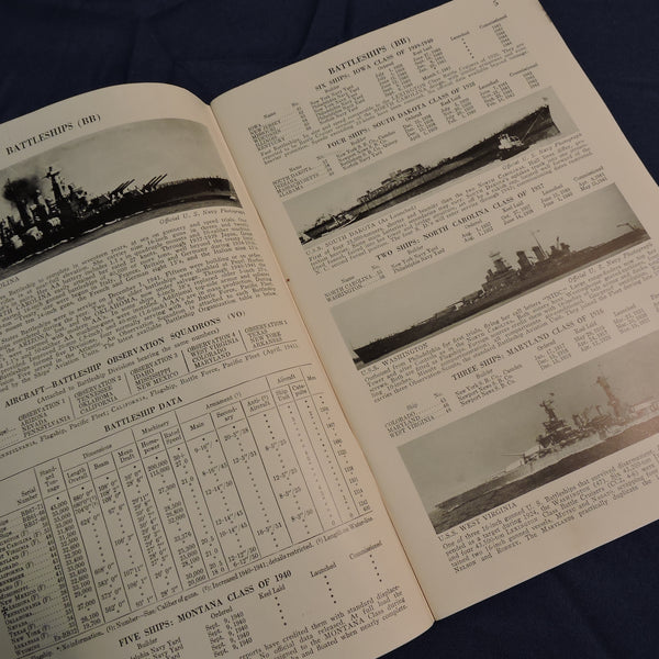 The Ships and Aircraft of the United States Fleet, Fahey, War Edition 1942