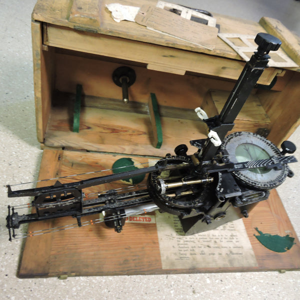 "Bomb Sight, Course Setting, Mk VIIC British RAF 1940, ""Wimperis"""