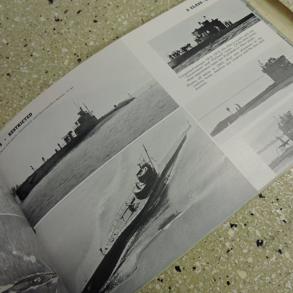 Recognition Manual US Naval Vessels ONI 54